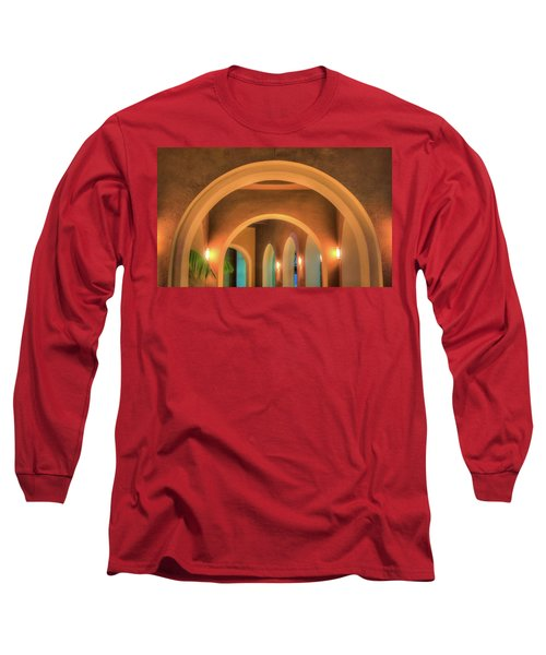 Labyrinthian Arches Long Sleeve T-Shirt