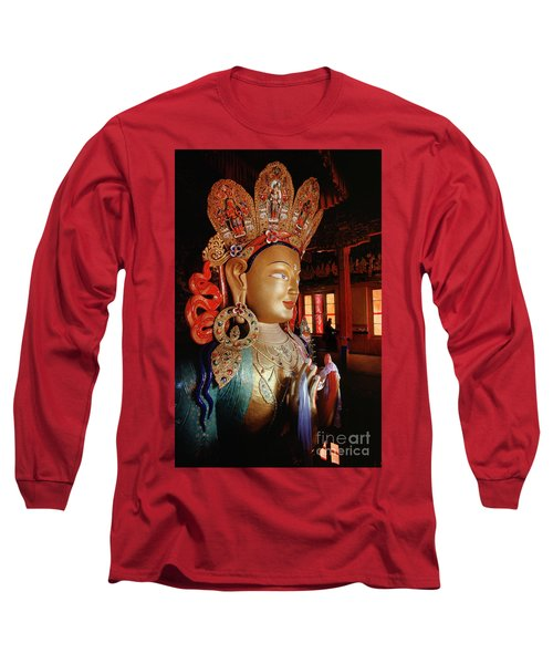 Long Sleeve T-Shirt featuring the photograph Ladakh_41-2 by Craig Lovell