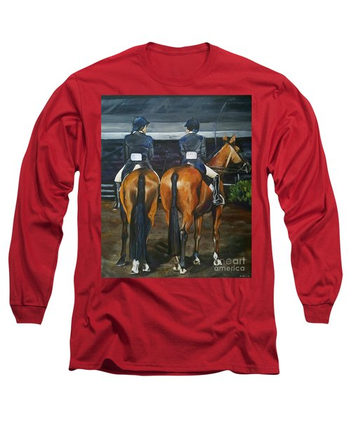 Ladies At Sussex Hunt Night Long Sleeve T-Shirt