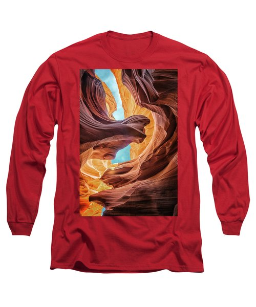 Lady And The Eagle Long Sleeve T-Shirt