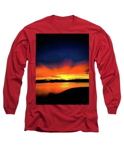 Lake Havasu Sunset Long Sleeve T-Shirt