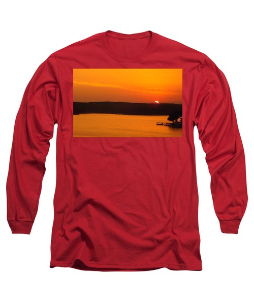 Lake Of The Ozarks 1 Long Sleeve T-Shirt by Don Koester