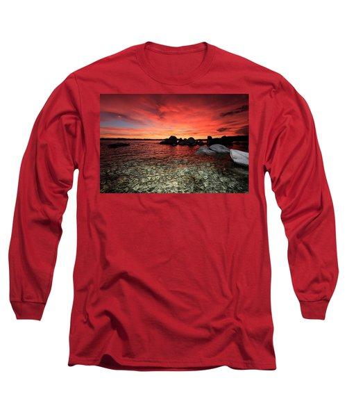 Lake Tahoe Liquid Dreams Long Sleeve T-Shirt
