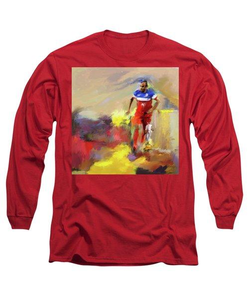 Landon Donovan 545 1 Long Sleeve T-Shirt by Mawra Tahreem
