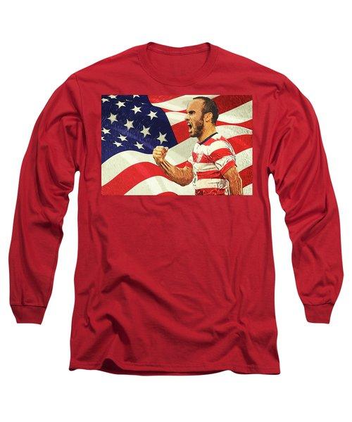Landon Donovan Long Sleeve T-Shirt