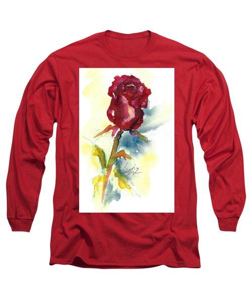Last Rose Of Summer Long Sleeve T-Shirt