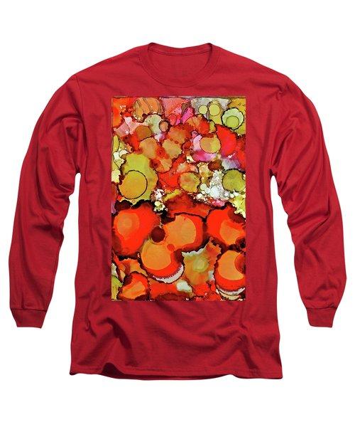 Late Summer Flowers Long Sleeve T-Shirt