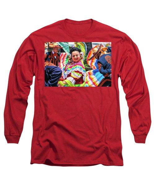 Latino Street Festival Dancers Long Sleeve T-Shirt