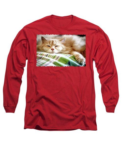 Lazy Day Long Sleeve T-Shirt