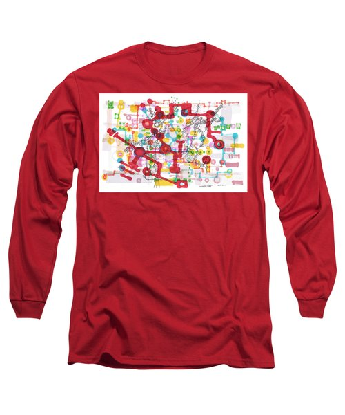 Learning Circuit Long Sleeve T-Shirt