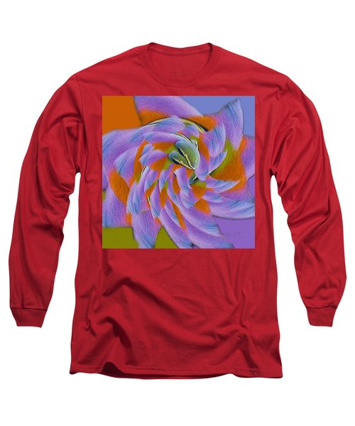 Learning To Fly Long Sleeve T-Shirt by Robert J Sadler