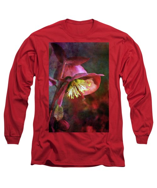 Lenten Rose Bowing To The Sun 8712 Idp_2 Long Sleeve T-Shirt