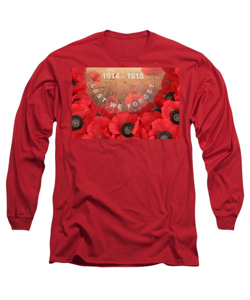 Lest We Forget - 1914-1918 Long Sleeve T-Shirt