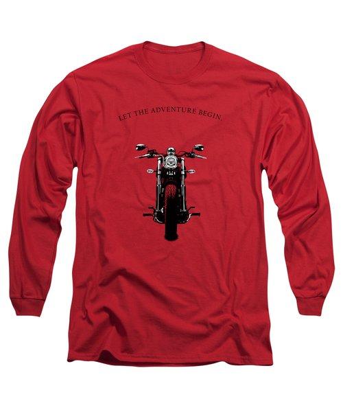 Let The Adventure Begin Long Sleeve T-Shirt