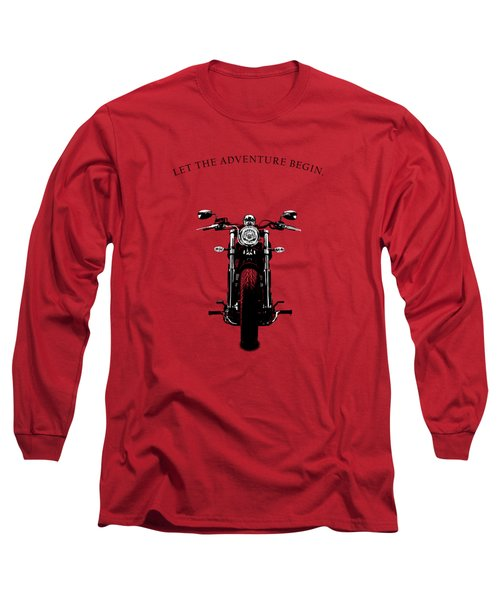 Let The Adventure Begin Long Sleeve T-Shirt