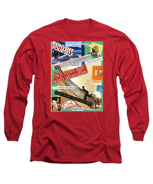 Let Yourself Go Long Sleeve T-Shirt