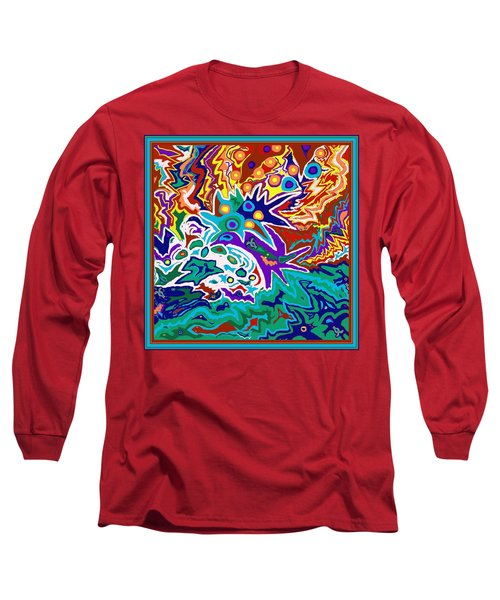 Life Ignition Option 2 With Borders Long Sleeve T-Shirt