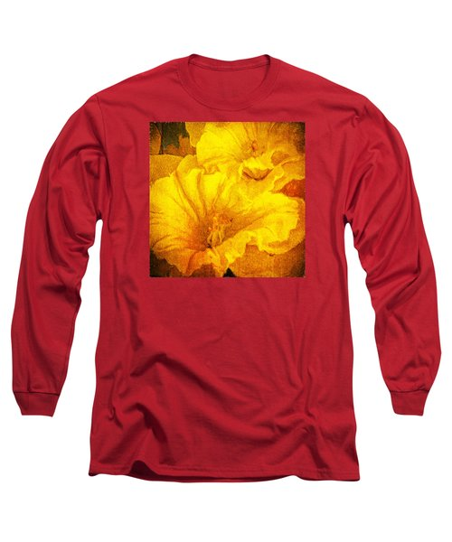 Life In Yellow Long Sleeve T-Shirt