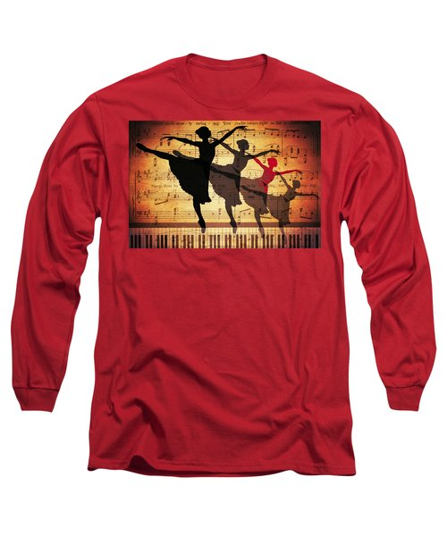 Life Is Music Long Sleeve T-Shirt