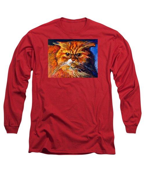 Life Isn't Easy Long Sleeve T-Shirt by Maxim Komissarchik