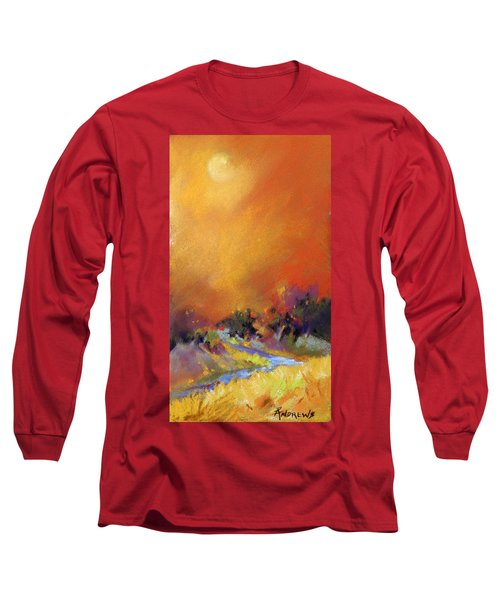 Long Sleeve T-Shirt featuring the painting Light Dance by Rae Andrews