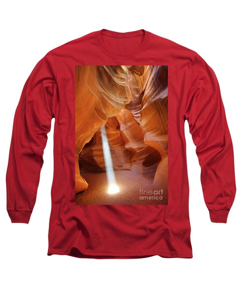 Light In Antelope Canyon Long Sleeve T-Shirt