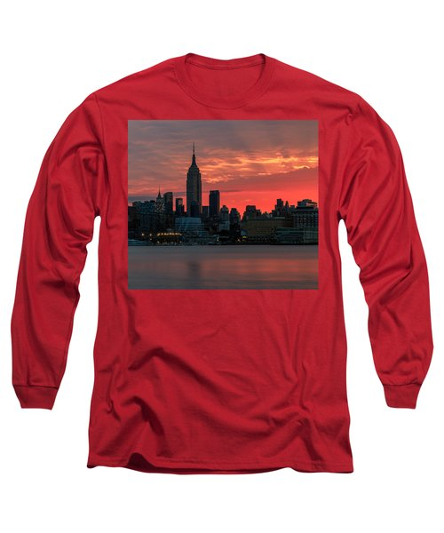 Light Ray's Of Nyc  Long Sleeve T-Shirt