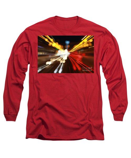 Light Trails Long Sleeve T-Shirt