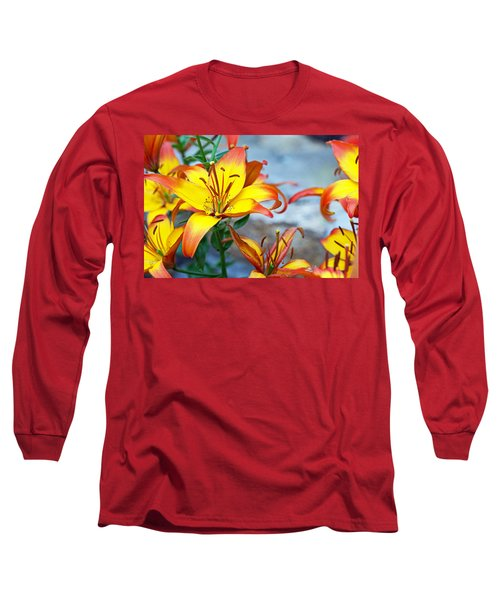 Lilies Of The Field #1 Long Sleeve T-Shirt