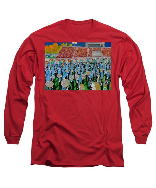 Lincoln Band Long Sleeve T-Shirt by Rodger Ellingson