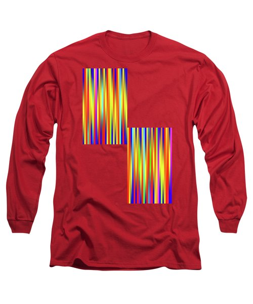 Long Sleeve T-Shirt featuring the digital art Lines 17 by Bruce Stanfield