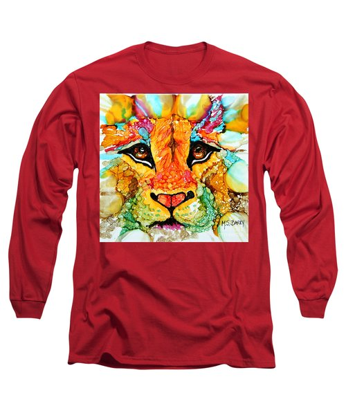 Lion's Head Gold Long Sleeve T-Shirt