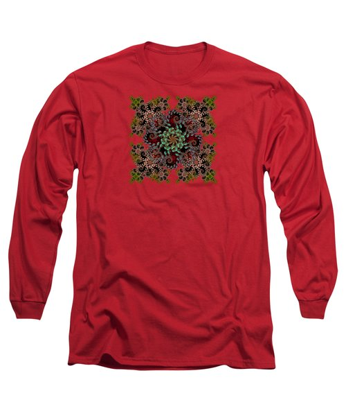 Liquid Spiral Long Sleeve T-Shirt
