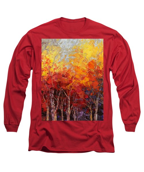 Listening To Leaves Long Sleeve T-Shirt