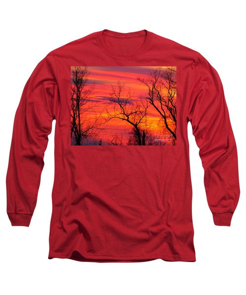 Little More Color At Sunset Long Sleeve T-Shirt