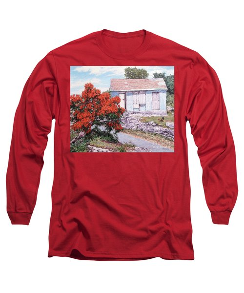 Little Poinciana Long Sleeve T-Shirt