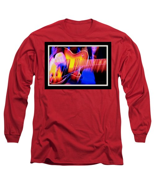 Long Sleeve T-Shirt featuring the photograph Live Music by Chris Berry