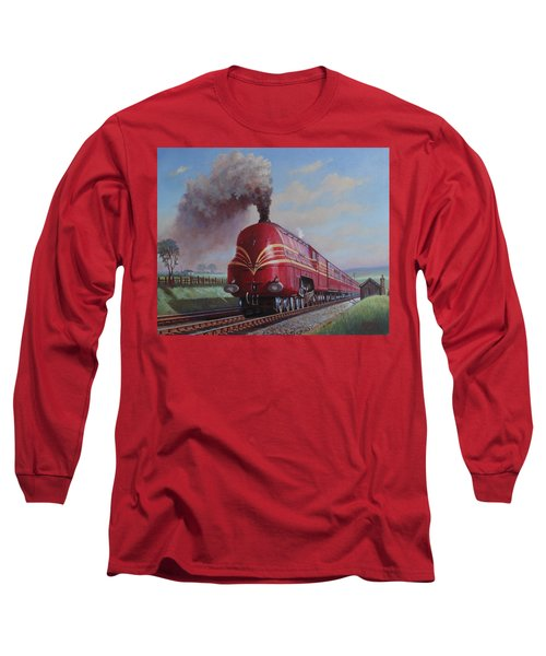 Lms Stanier Pacific Long Sleeve T-Shirt by Mike  Jeffries