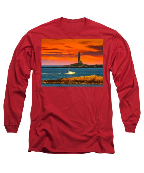 Lobster Boat Cape Cod Long Sleeve T-Shirt