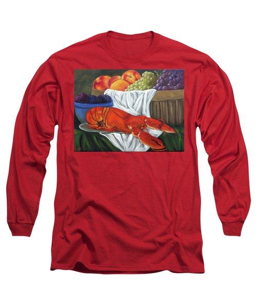 Lobster Still Life Long Sleeve T-Shirt