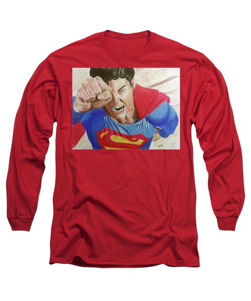 Lois' Death Long Sleeve T-Shirt by Michael McKenzie