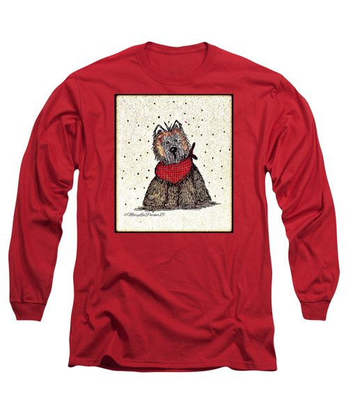 Lola The Dog Long Sleeve T-Shirt by MaryLee Parker