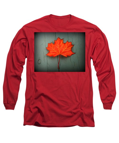Lone Leaf Long Sleeve T-Shirt