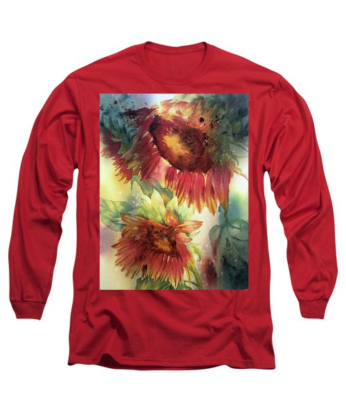 Look On The Sunny Side Long Sleeve T-Shirt