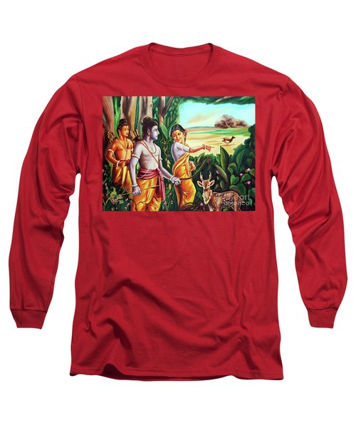 Love And Valour- Ramayana- The Divine Saga Long Sleeve T-Shirt