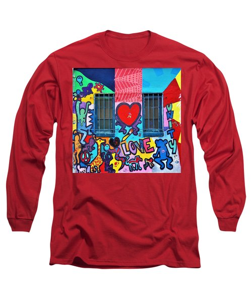 Love Haring  Long Sleeve T-Shirt