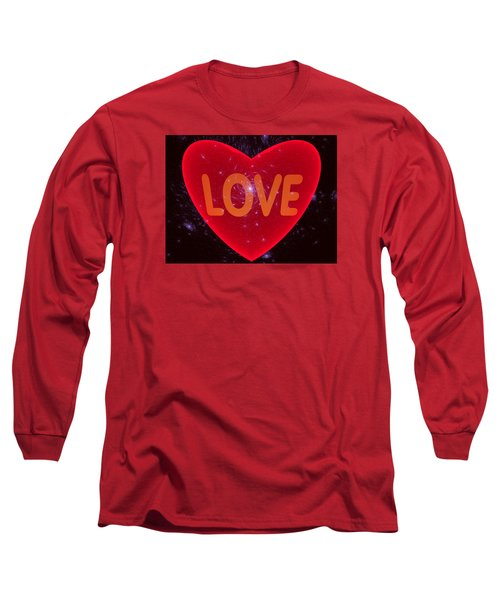 Loving Heart Long Sleeve T-Shirt