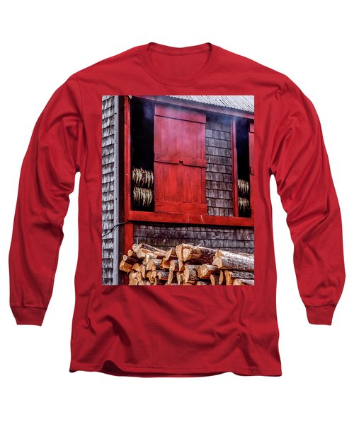 Lubec Smokehouse Long Sleeve T-Shirt