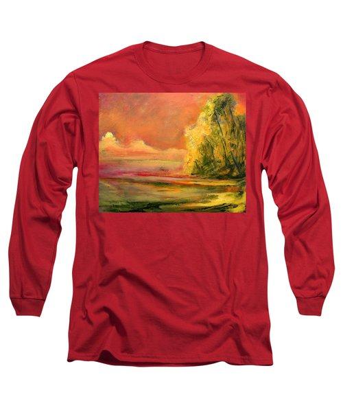 Luminous Sunset 2-16-06 Julianne Felton Long Sleeve T-Shirt