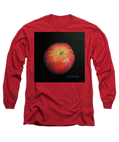 Lunch Apple Long Sleeve T-Shirt by Marna Edwards Flavell